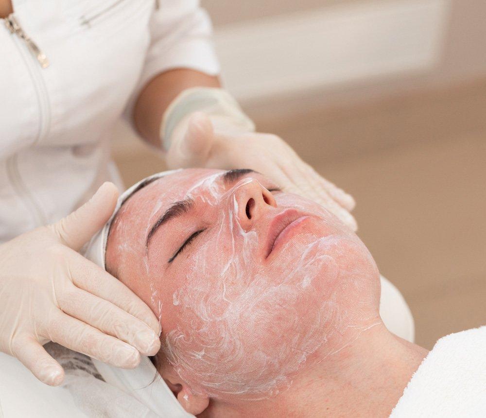 Exuviance facial