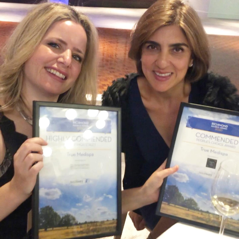 True Medispa Richmond Business Awards